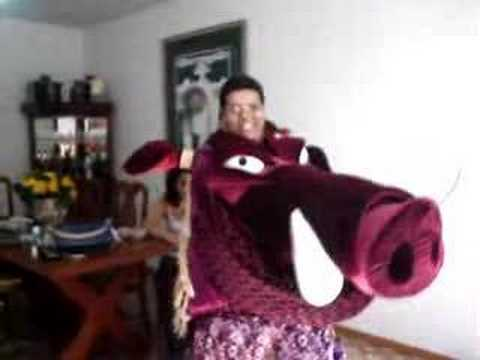 Hakuna Matata - Me In My Pumbaa Costume