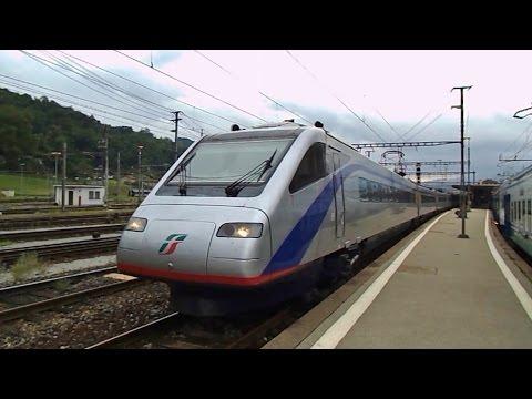 Ultimi Eurocity con ETR470 Pendolino