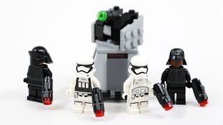 LEGO Star Wars First Order Battle Pack (Timelapse & Review) - Set 75132