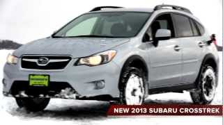 ALL NEW 2013 Subaru Crosstrek Snow Test Drive   Morrie's Minnetonka Subaru