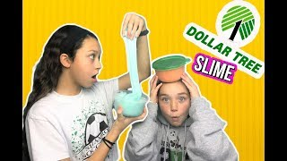 Video DOLLAR TREE SLIME CHALLENGE! We attempt to  make Dollar Tree slime MP3, 3GP, MP4, WEBM, AVI, FLV Januari 2018