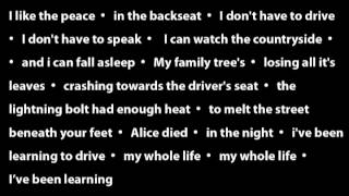 In The Backseat - Arcade Fire