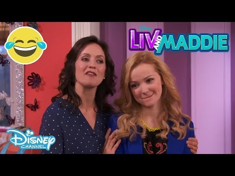 Liv and Maddie   Flashback-a-Rooney 😱   Disney Channel UK