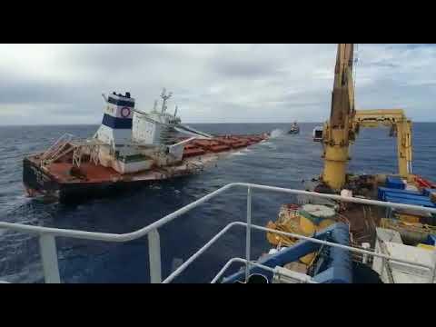 Намеренное затопление судна