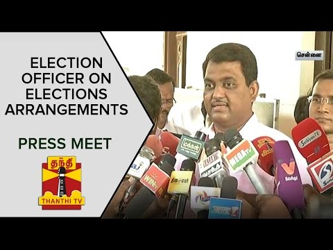 Election-Officer-Chandramohans-Press-Meet-about-Peoples-Basic-Needs-Security-Arrangements