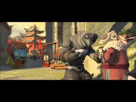 couse déguisement dragon - kung fu panda