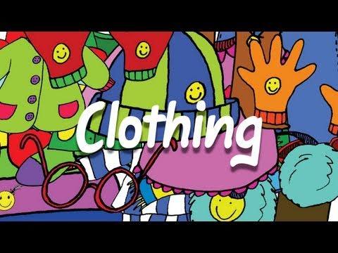 Clothes Vocabulary - Elf