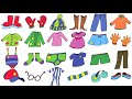 Clothes Vocabulary Video Lesson, ELF Learning English Vocabulary