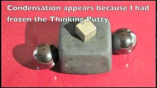 Time-lapse Strange Attractor Thinking Putty
