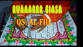 Download Video KALIGRAFI ANAK SD Keren Banget (MUSHAF Surat Al-fiil) MP3 3GP MP4