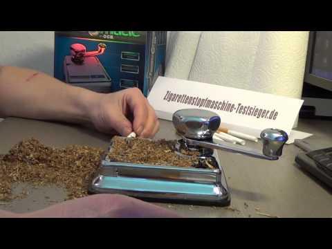 Schneller und bessere Zigaretten stopfen: Test der Mikromatic Mini Top-o-matic