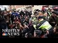 Violent Anti-Trump Protests Try To Steal Spotlight On Inauguration Day   NBC Nightly News