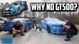 Washing Cars With Girlfriend + Why I Won't Buy a 2020 Shelby GT500 by That Dude in Blue