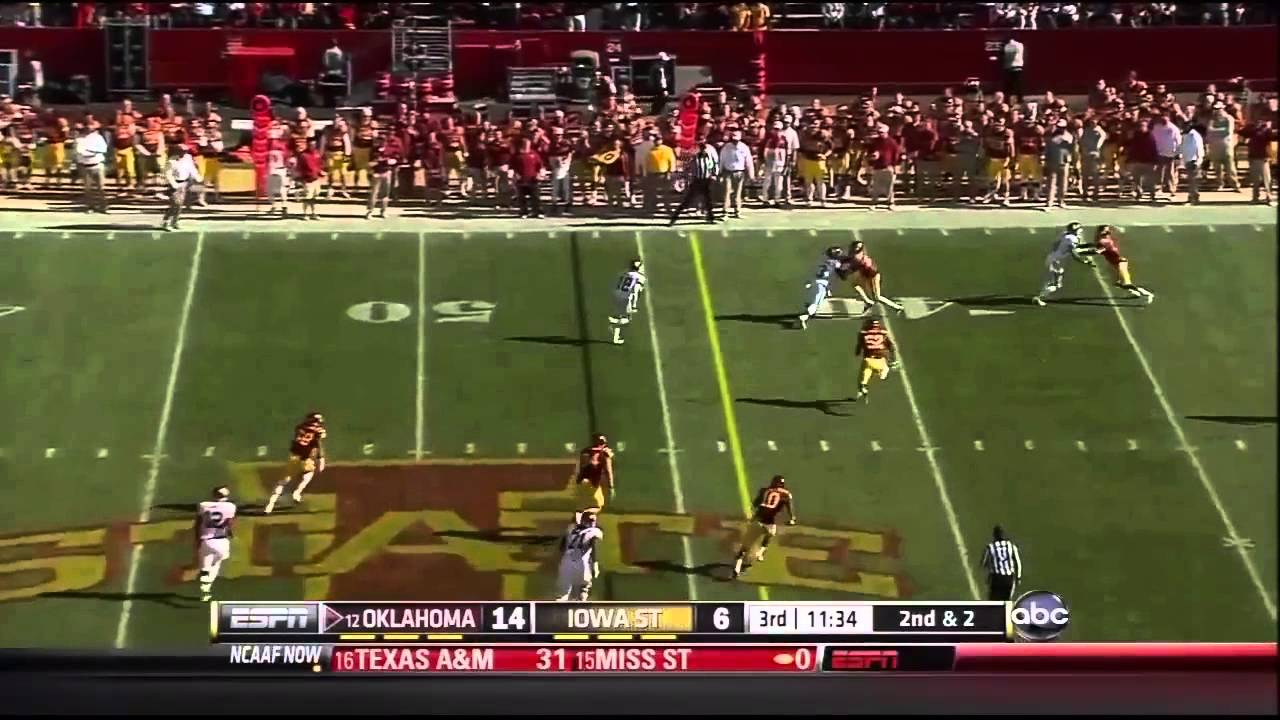 Landry Jones vs Iowa State (2012)
