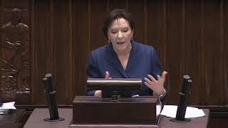 Ewa Kopacz w formie! Tym mistrzowskim wystąpieniem zawstydziła Morawieckiego.