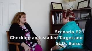 "Join Dr. Jamie Marich (in the role of client) along with her training partner Amber Stiles-Bodnar as they run through three scenarios for ""checking back in"" with EMDR therapy targets."