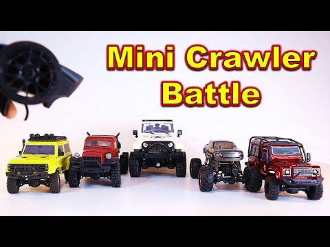 Which is the BEST Mini RC Crawler?