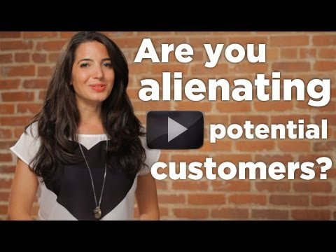 Watch 'Are You Alienating Potential Customers? - YouTube'