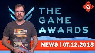 Die Highlights und Gewinner der Game Awards 2018! Der EPIC Game Store ist da! | GW-NEWS