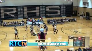Rochester High School Volleyball vs Peru
