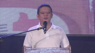 Chiz Escudero at the 3rd Makabayan National Convention