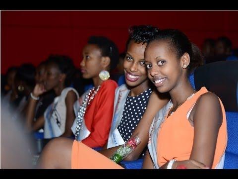 MISS RWANDA 2014 Boot camp