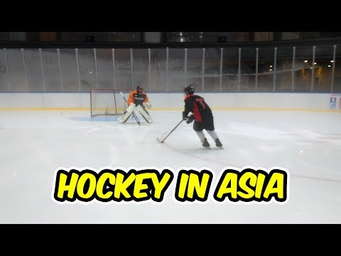 What is Hockey Like in Asia? (видео)