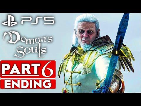 DEMON'S SOULS REMAKE ENDING Gameplay Walkthrough Part 6 [60FPS PS5] - No Commentary (FULL GAME)