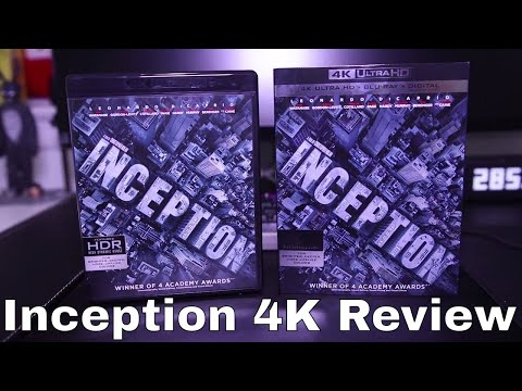 Inception 4K Blu-Ray Review
