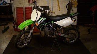9. Ethan's New Dirtbike - 2007 Kawasaki KX85