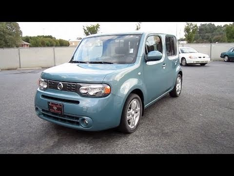 2009 Nissan Cube Start Up, Engine, and In Depth Tour