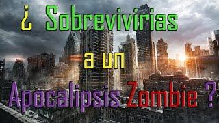 Video RETO | ¿SOBREVIVIRIAS A UN APOCALIPSIS ZOMBIE? MP3, 3GP, MP4, WEBM, AVI, FLV Juli 2018