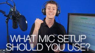 Video Mic setup Comparison ft. Audio-Technica AT2020 MP3, 3GP, MP4, WEBM, AVI, FLV Mei 2019