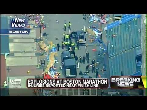 Footage - Two bombs struck near the finish line of the Boston Marathon on Monday, turning a celebration into a bloody scene of destruction. The blasts threw people to ...
