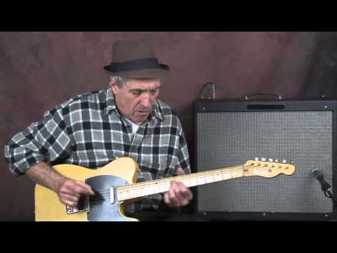 Country Jazz guitar lesson inspired by Chet Atkins Hank Garland learn chord melody lead n rhythm