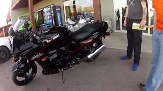 9. 2008 Kawasaki Ninja EX500R Walk around: For Sale