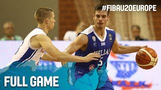 Watch Czech Republic v Greece at the FIBA U20 European Championship 2017. ▻▻ Subscribe: http://fiba.com/subYT Click here for more: ...