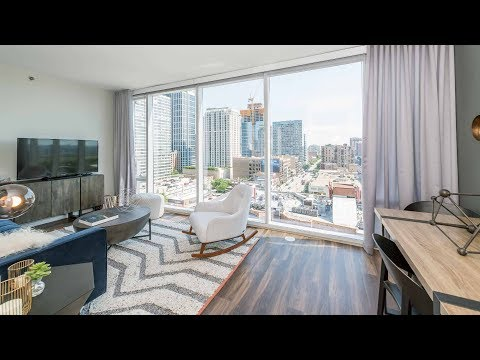 A sunny, south-facing 1-bedroom at the South Loop's new Eleven40