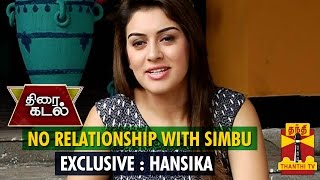 No Relationship With Simbu : Hansika Motwani - Thanthi TV