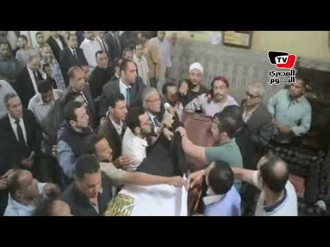 تشييع جثمان المقدم محمد حبشي شهيد حادث الواحات الإرهابي بالمنيا