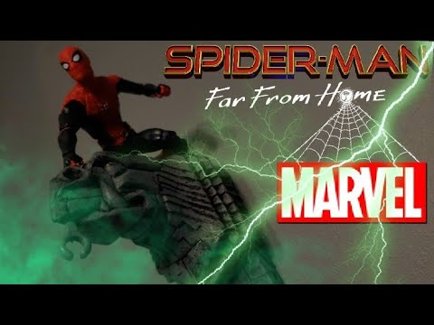 Marvel's Spider-Man: Far From Home [Stop Motion] (Spider-Man vs Mysterio)