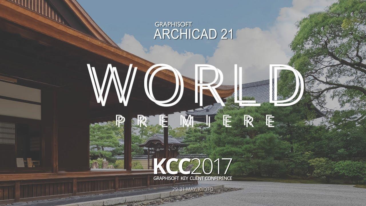 ARCHICAD 21 LIVE Premiere - GRAPHISOFT KCC 2017
