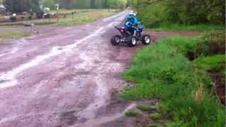 10. YAMAHA Raptor 250 2012 KID
