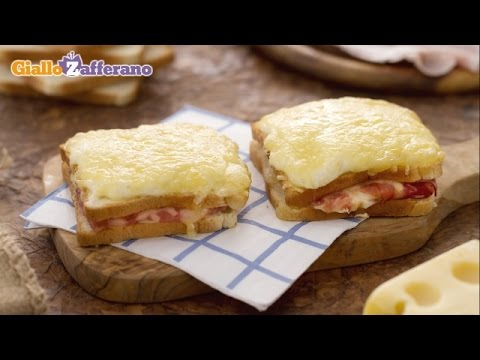 French Sandwich: How to Make Croque Monsieur – French Ham and Cheese Sandwich