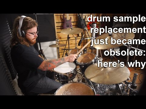 Drum Sample Replacement just became Obsolete: Here's Why! | SpectreSoundStudios REVIEW