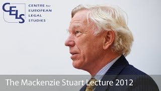 'The EU as a Source of Inspiration': 2012 Mackenzie Stuart Lecture - Sir Konrad Schiemann