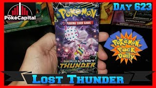 Pokemon Pack Daily LOST THUNDER Booster Opening Day 623 - Featuring ThePokeCapital by ThePokeCapital