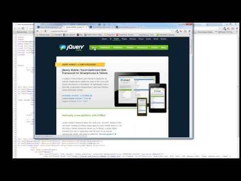 1. jQuery Mobile – Die Einführung