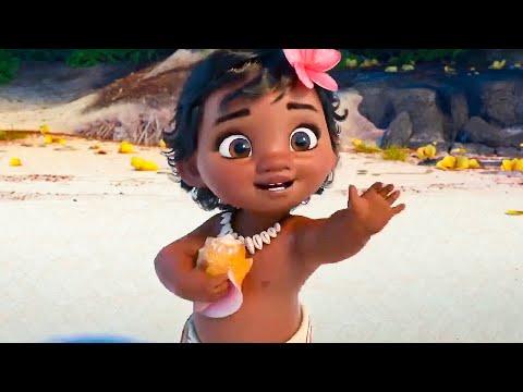 MOANA All Movie Clips (2016)