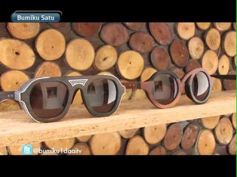 Bumiku Satu - Kacamata Limbah Kayu
